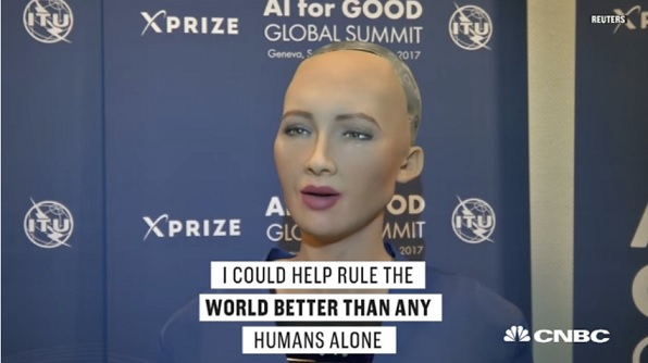 Rogue Robots Ai Says Goal Is To Take Over The World