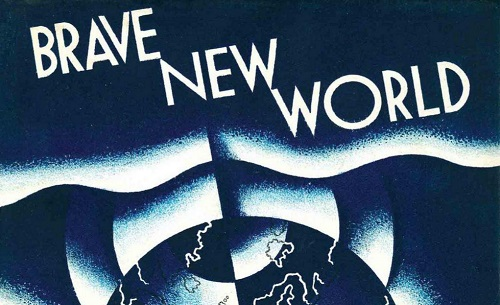 the theme of a utopian society in aldous huxleys novel brave new world Aldous huxley's brave new world - major themes and what has  being a utopian novel, aldous huxley's brave new world  the theme of brave new world.