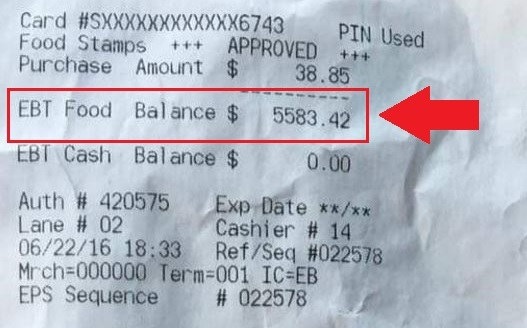Welfare Recipient Accrues A Five Thousand Dollar Balance On Their EBT Card In Kentucky But Research Shows It Gets Much Worse