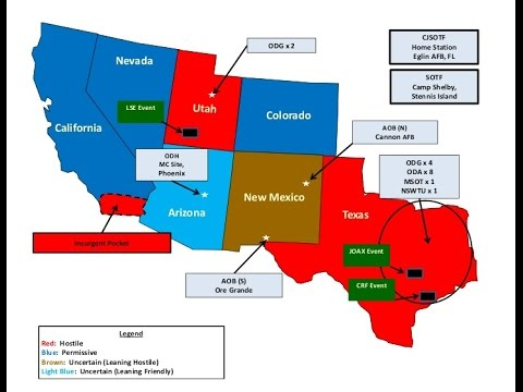 Report Of Foreign Tanks Coming Into US From Mexico As Jade Helm - Mexico map before us invasion