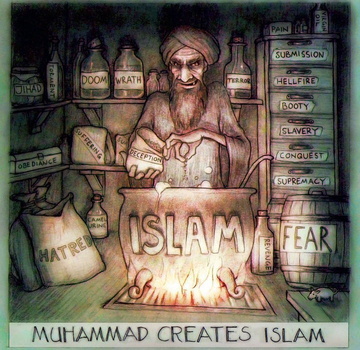 Image result for muhammad the liar