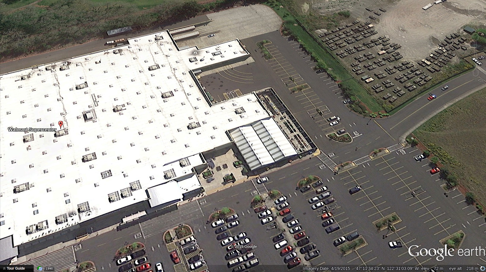 massive buildup of military vehicles at washington wal mart as screenshot from 2015 06 14 191210 jpg