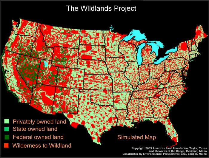 These Maps Show Us Where We Won T Be Able To Live After The Takeover Of America Is Completed Human Access Denied