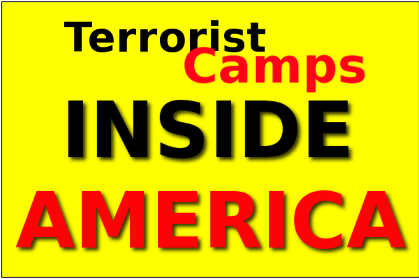 Setting Americans Up As Sitting Ducks Islamic Terror Training - Isis Training Camps In Us Map