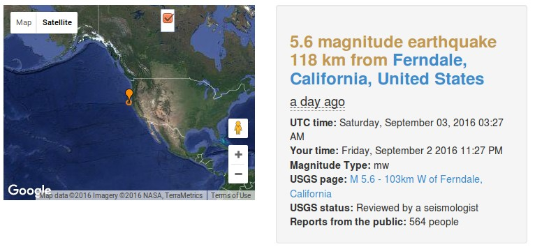 Quake Expert Warns Of 'Natural Disasters Of Potentially Apocalyptic Proportions'  Caquake