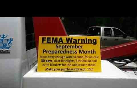 Mysterious September 15th Warning On FEMA Signs Have People Asking