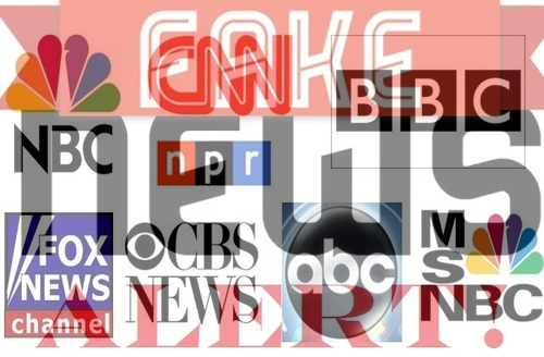Image result for fake news media