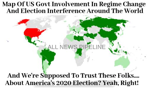 USA:n hallituksevaihto-operaatiot
