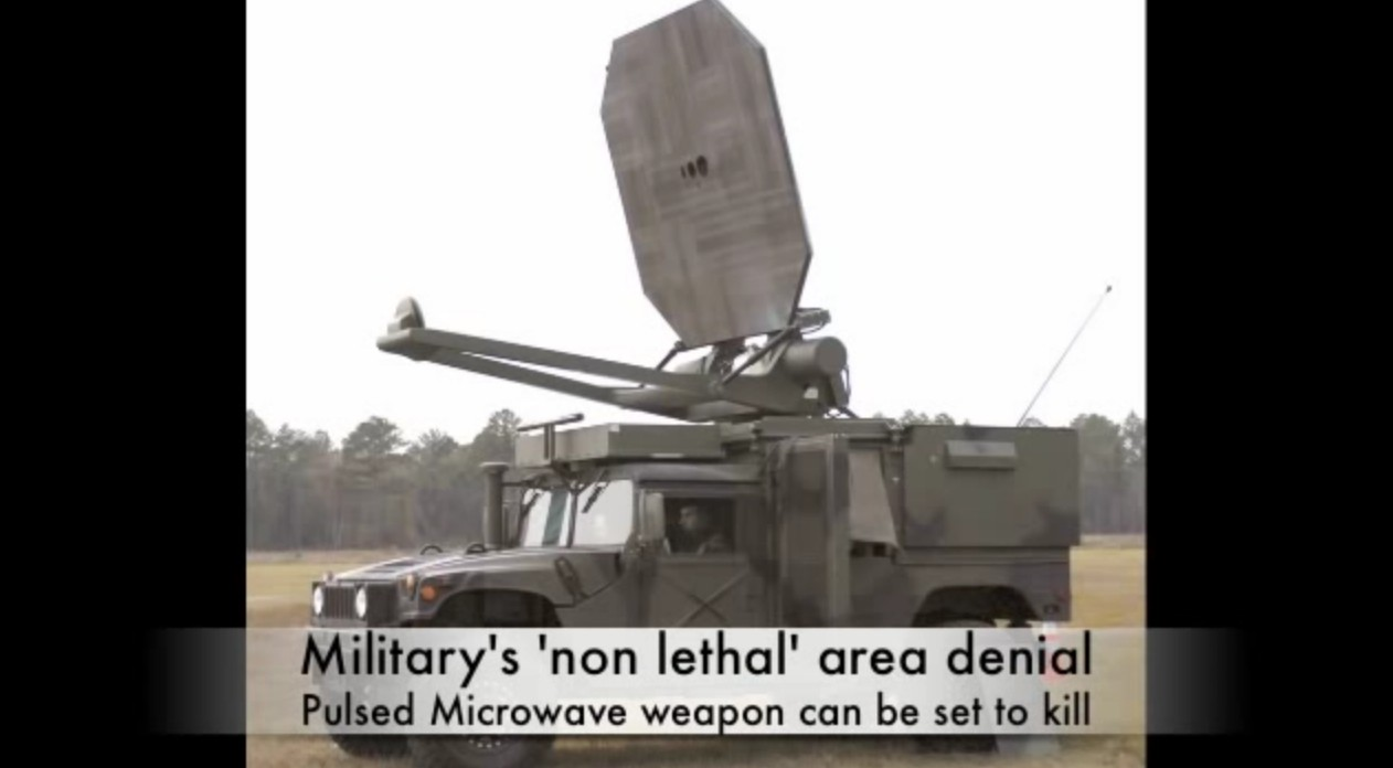 microwave weapon
