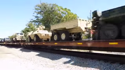 Military Transport Train