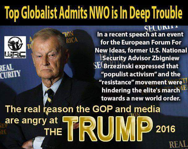 NWO Warns Of 'Terrible News' For America And The World - Donald Trump ...