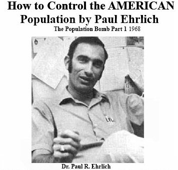 a grim future for the world in dr paul ehrlichs the population bomb