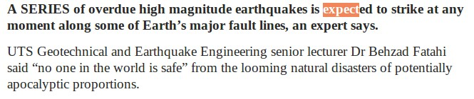 Quake Expert Warns Of 'Natural Disasters Of Potentially Apocalyptic Proportions'  Story_screenshot_1