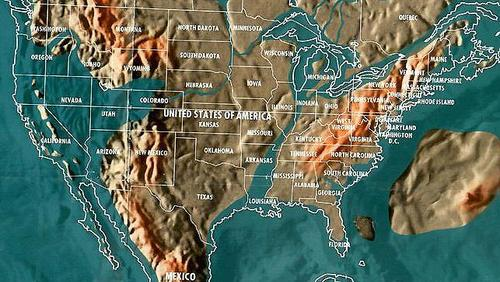 Is The Navy Future Map Of The Us Real - Us navy map of future