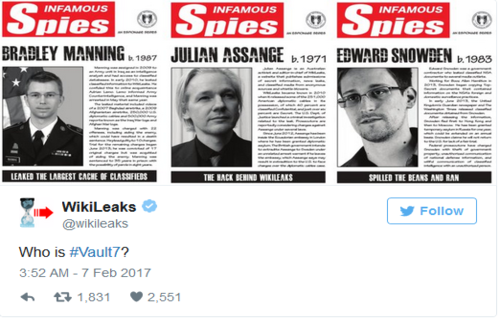 Mysterious Wikileaks Tweets Are Melting Down The Internet